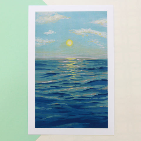 Ocean Sunrise - Limited Edition Print