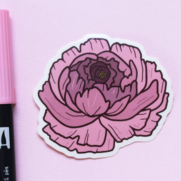 Wild Bloom - Vinyl Sticker