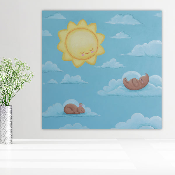 Creatures of the Sun - Original Painting