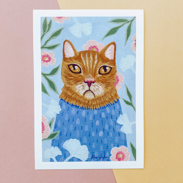 Mr. Whiskers - Limited Edition Print