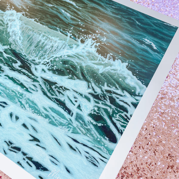 Saltwater Wave - Limited Edition Print