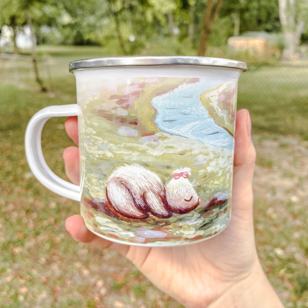 Creature of Reflection - Enamel Mug