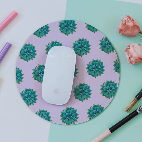 Succulents - Mouse Pad