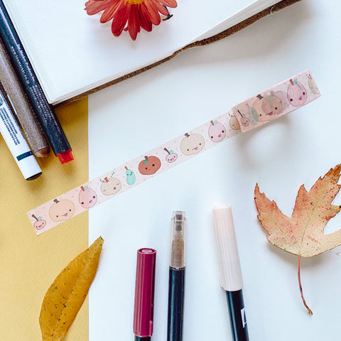 Pumpkin Pal - Washi Tape