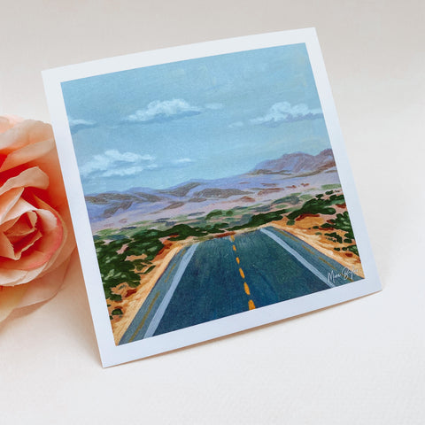 Road to Somewhere - Mini Limited Edition Print