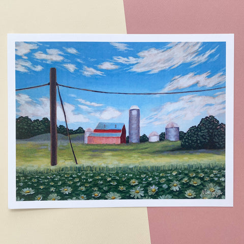 Millersburg Fields - Limited Edition Print