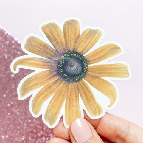 Black Eyed Susan - Vinyl Sticker