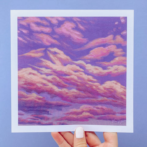 Sherbet Sky - Limited Edition Print