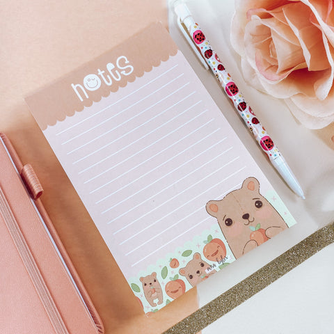 Peachy Pal Notepad