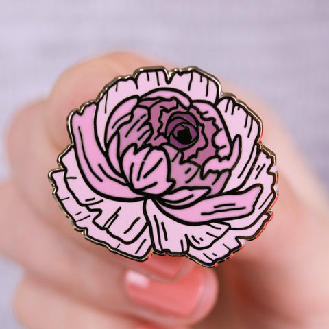 Wild Bloom Enamel Pin