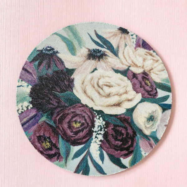 The Floral Collection | Violet Bloom Coaster