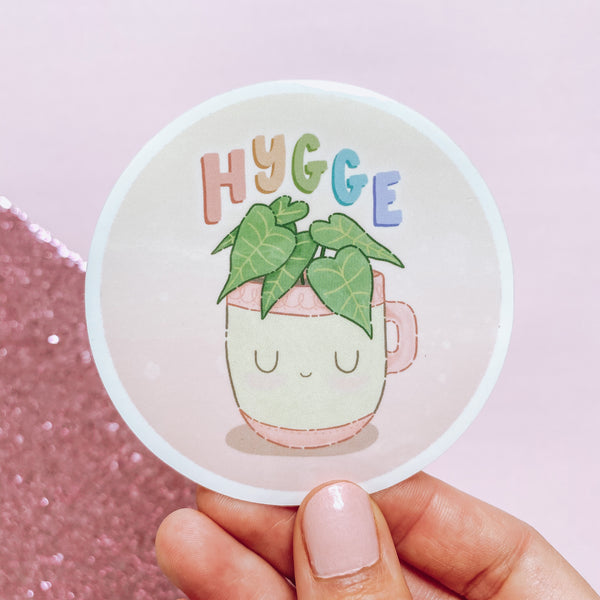 Hygge Friend - Vinyl Sticker