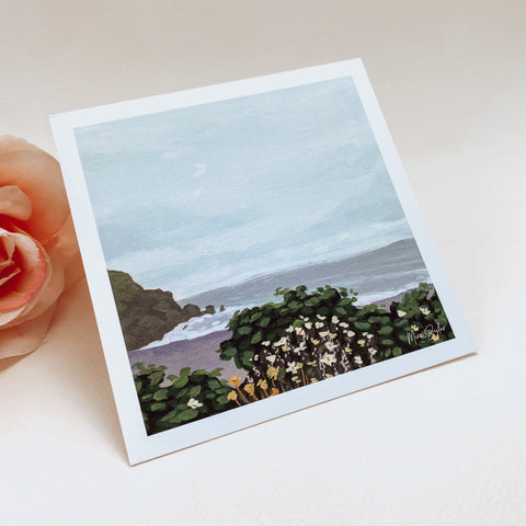Coastal Oasis - Mini Limited Edition Print