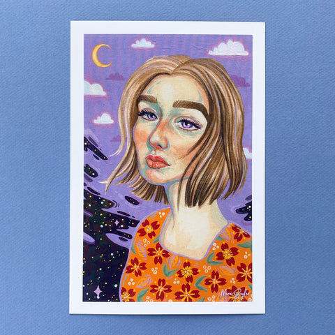 Celestial Surrealism - HOLOGRAPHIC Limited Edition Print