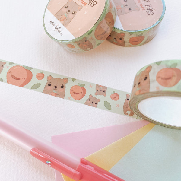 Peachy Pals - Washi Tape