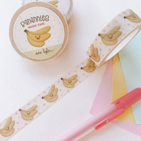 Banannies - Glittery Washi Tape