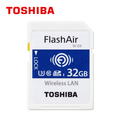 Carte SD TOSHIBA Flash Air W-04  90MB/s