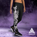 Eagle  -  Black Women's Joggers - Aurorum Fashion