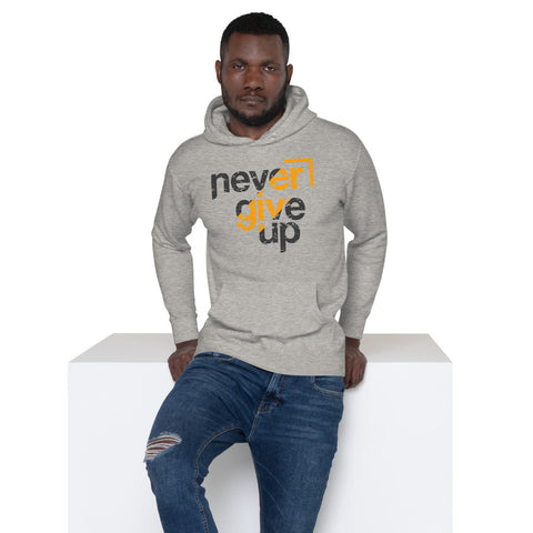 Never Give Up - Unisex Hoodie - Aurorum Fashion