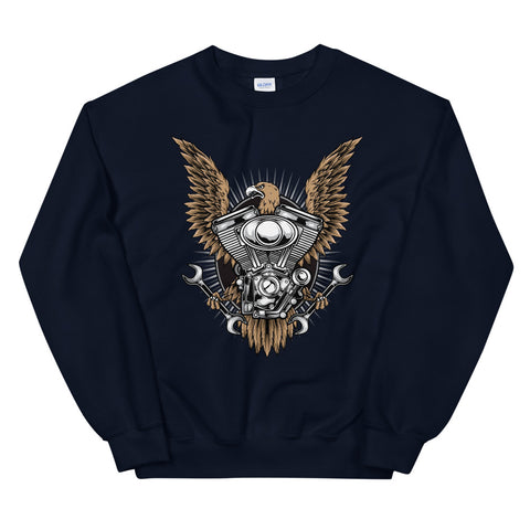 Eagle Engine #02 - Unisex Sweatshirt - Aurorum Fashion