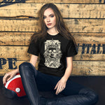 Skull Tattoo - Short-Sleeve Unisex T-Shirt - Aurorum Fashion