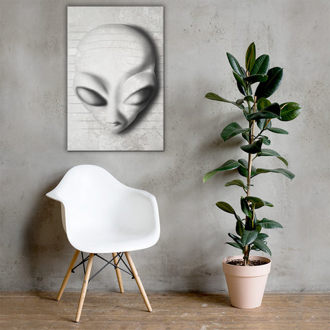Alien 3D - Canvas - Aurorum Fashion