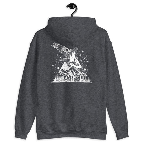 Eagle Triangle - Hoodie - Aurorum Fashion