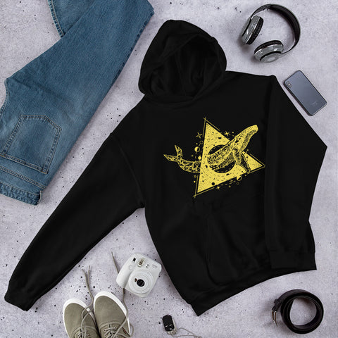 Whale Triangle - Hoodie - Aurorum Fashion
