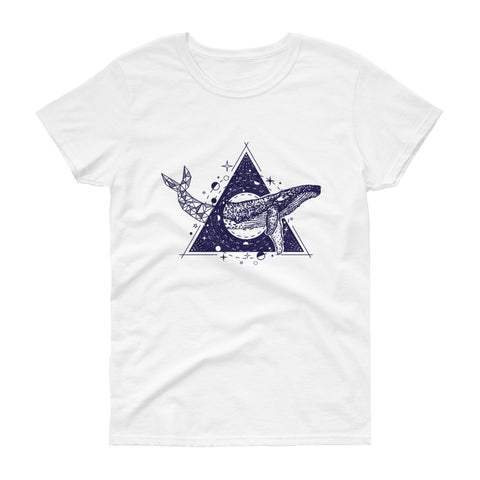 Whale Triangle -  short sleeve t-shirt - Aurorum Fashion