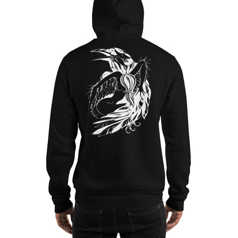 Beauty & Crow - Unisex Hoodie - Aurorum Fashion