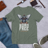 Born Free - Short-Sleeve Unisex T-Shirt - Aurorum Fashion