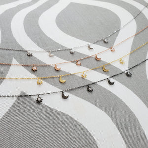 Necklace - Bright Suns Rising Moons