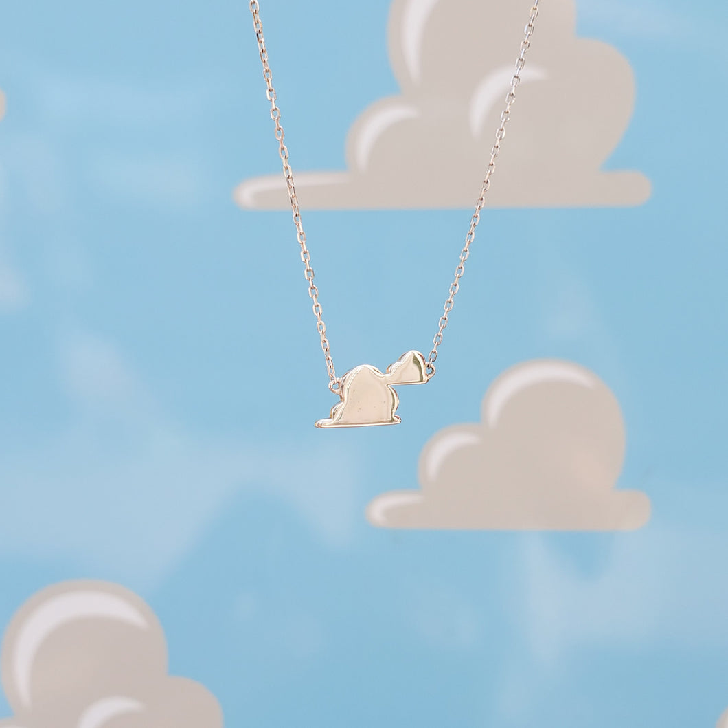 Andy's Wall Cloud Necklace