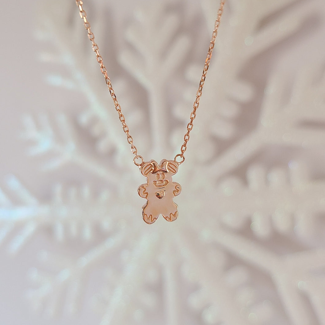 Gingerbread Minnie Necklace