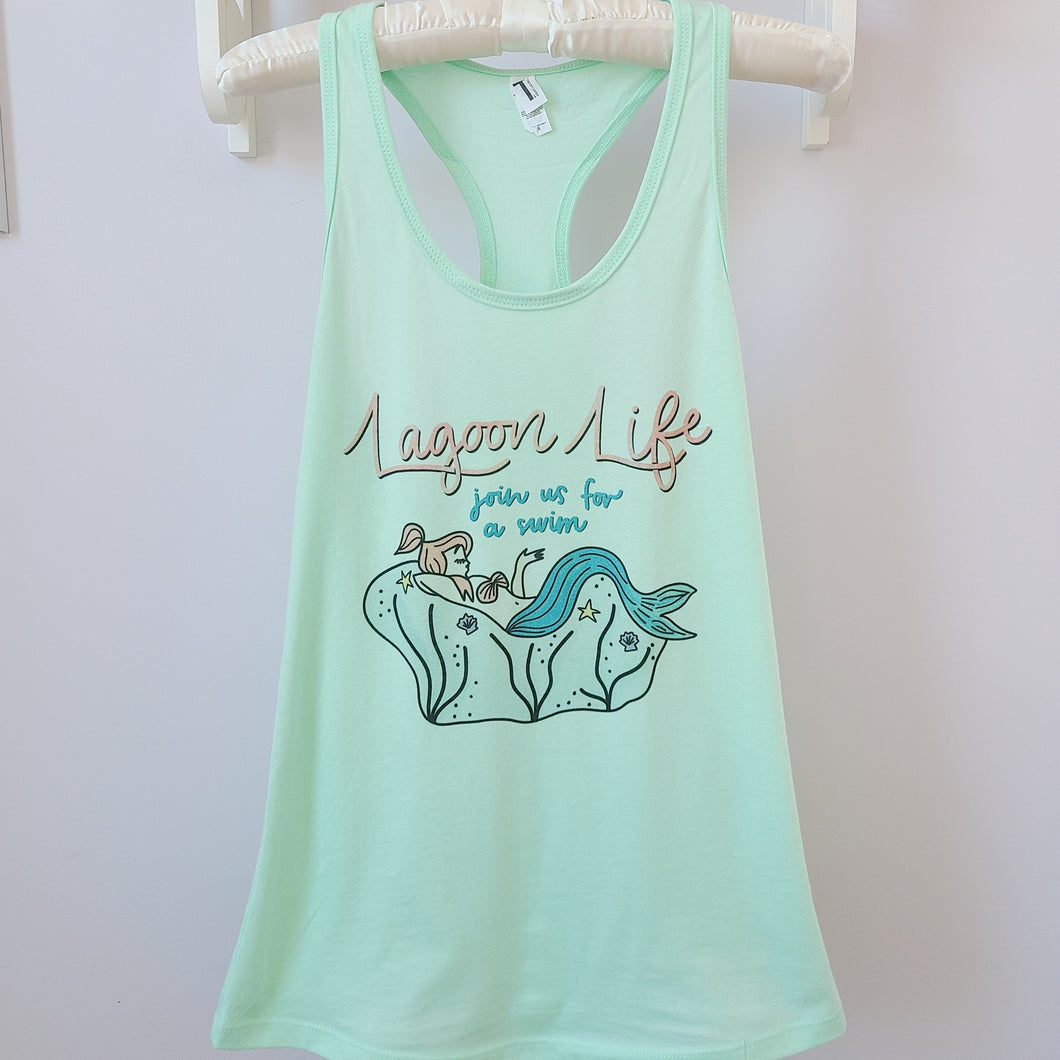 Lagoon Life Neverland Mermaid Tank Top