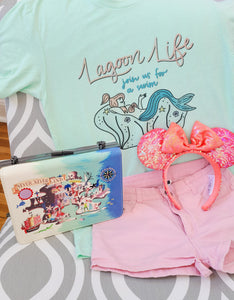 Lagoon Life Neverland Mermaid T-Shirt