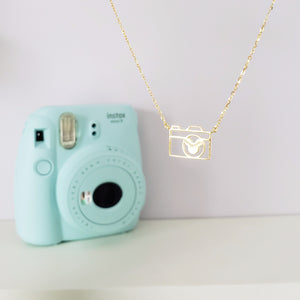 Snap the Magic Camera Necklace