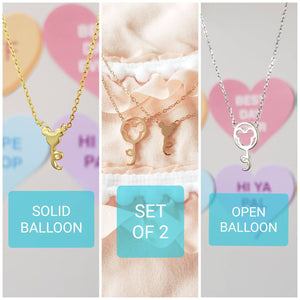 Best Friend Balloon Necklace