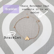 Load image into Gallery viewer, Branklet - Castle Wishes Interchangeable Bracelet / Anklet