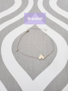 Branklet - Castle Wishes Interchangeable Bracelet / Anklet