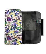 Load image into Gallery viewer, Hairdressing Scissor Case - Tool Roll - Blue Daisy