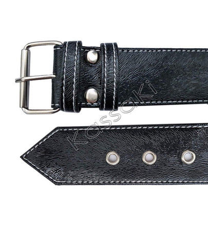Hairdressing Toolbelt Bag-Black Cowhide Effect - TB25