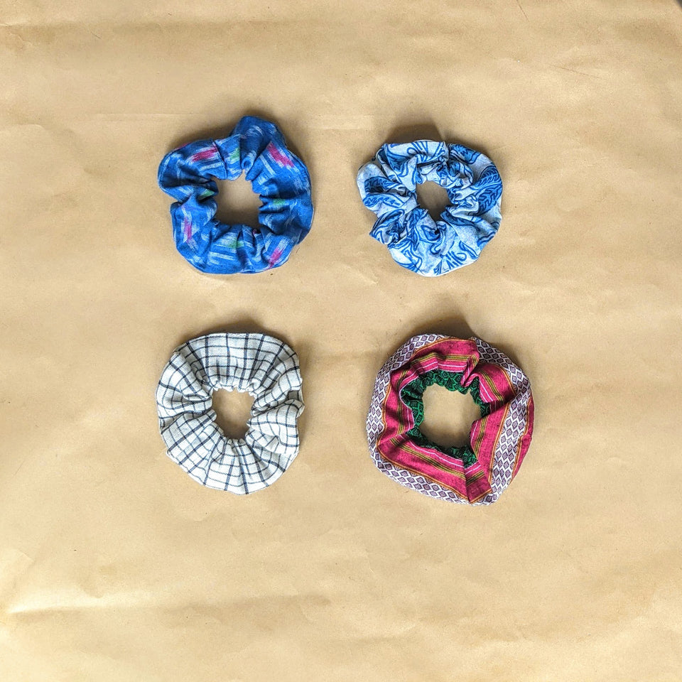 Binuni Scrunchy Set of 4 - Combo 5