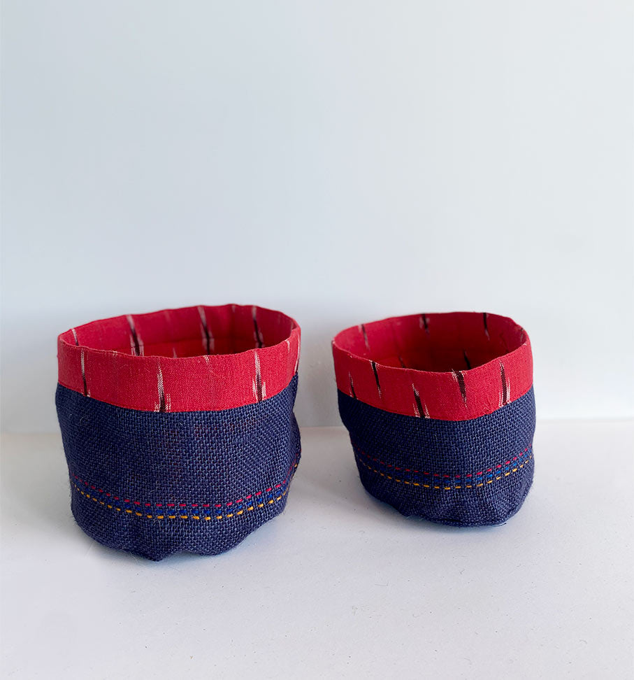 Red ikat holder