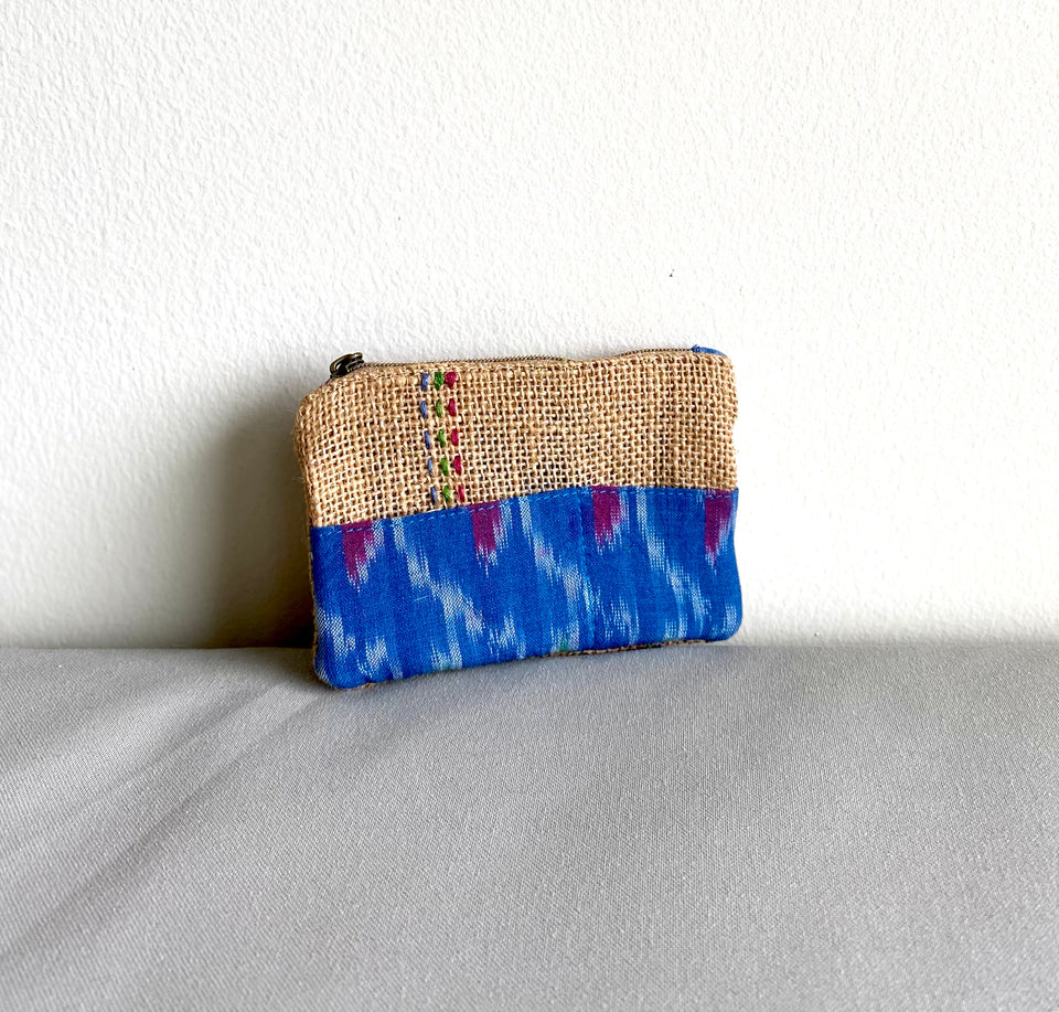 Small Ikat Pouch