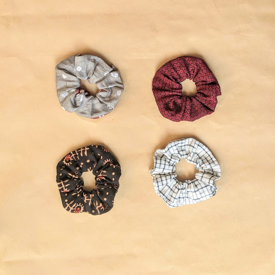 Binuni Scrunchy Set of 4 - Combo 2
