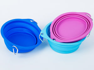 Collapsible Water/Food Bowl