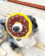 Load image into Gallery viewer, Donutz Dog Toy - Chocolate