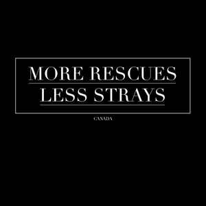 More Rescues, Less Strays Crew Neck