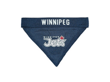 Load image into Gallery viewer, NHL Official Winnipeg Jets - Dog Bandana Reversible